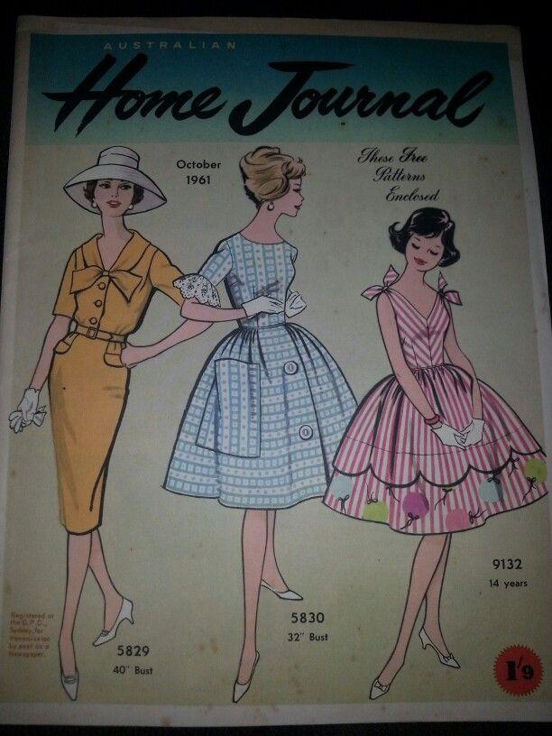 Australian home journal October 1961 cover