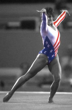 Mary Lou, the woman who started it all for american gymnastics :)