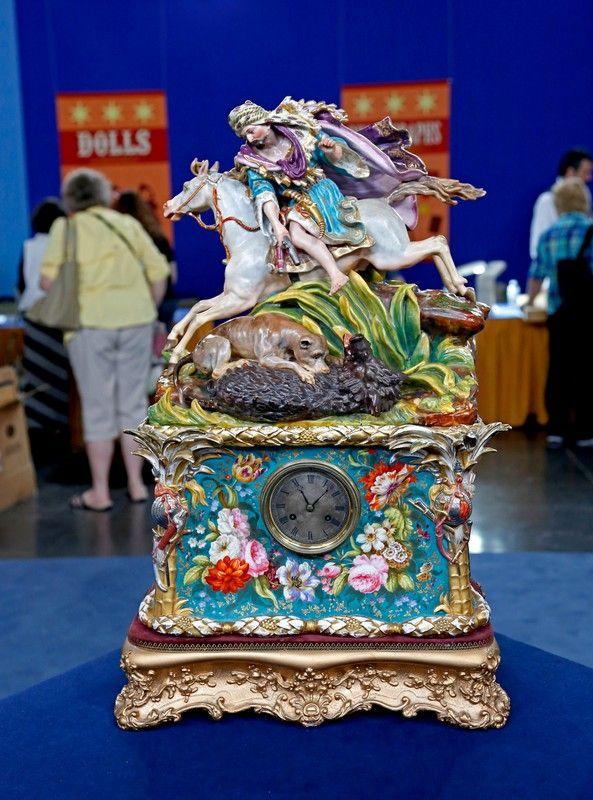 French Porcelain Clock, ca. 1840 Antiques Roadshow | PBS