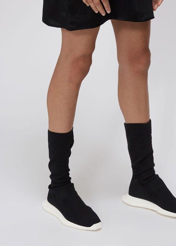 rick owens sock runner