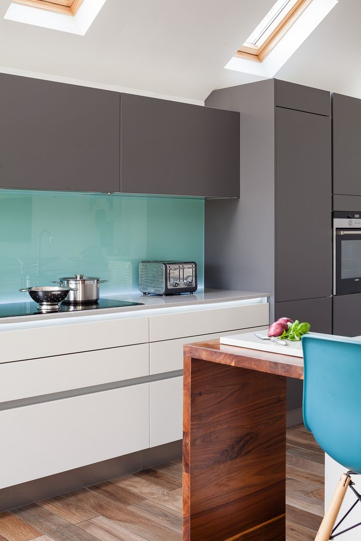 Of storage both behind the worktop amp cooker and below the sinks - An Island Was Essential And The Client Didn T Want To Have To Walk Half Way Round The Room Whilst Cooking The Worktops Were A Mixture Of Quartz And Wood For