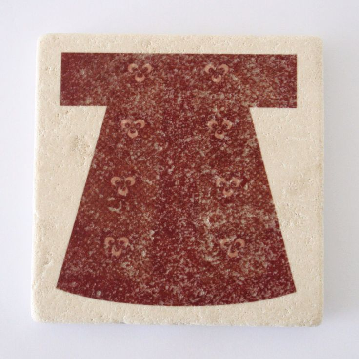 Red Kaftan Design Stone Coaster