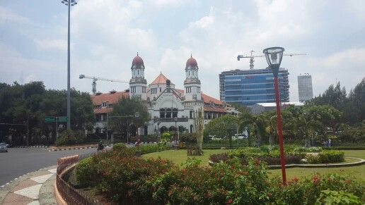 2nd destination: It's called Lawang Sewu means a thousand doors.