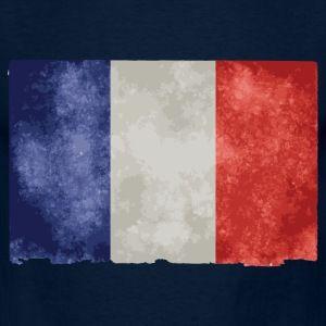 t shirt bleu m homme drapeau français bleu blanc rouge - Tee shirt Homme