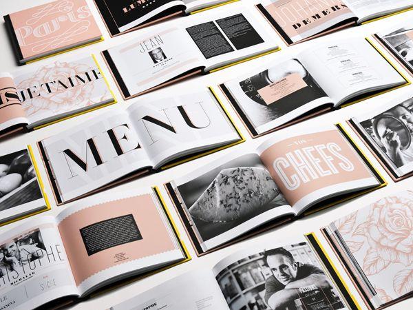 Image visuelle de la Vittoria, gala gastronomique entre Paris et New York   – GRAPHIC DESIGN