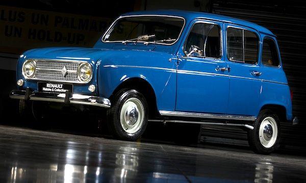Renault 4 France 1968