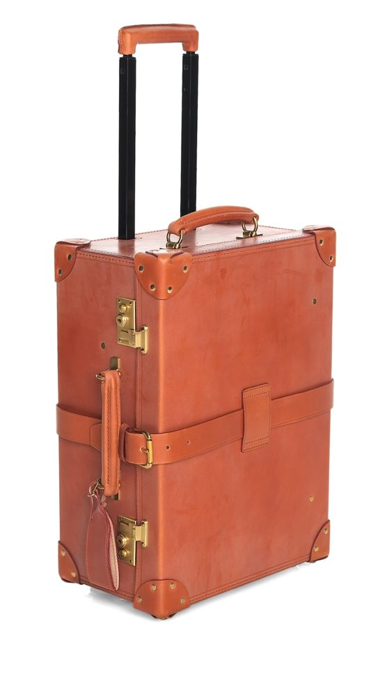 Vintage inspired Leather Travel Luggage I am in love!  -Me too!