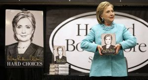 """Hillary Clinton's Book Sales for her """"Hard Choices"""" Plummets During Second Week. REPIN if she isn't the shoo-in candidate the media wants us to believe she is!"""