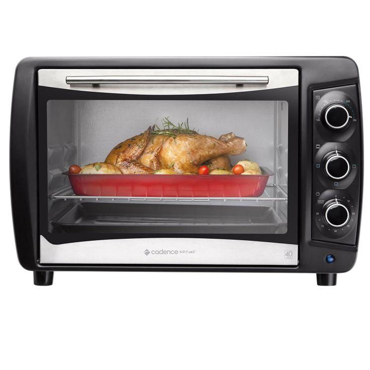 O Forno Elétrico garante praticidade no cozimento, já que, a temperatura e o tempo são definidos com mais precisão, é possível requentar alimentos mais rápido.