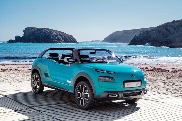 Citroen Cactus M concept car channels the Méhari buggy spirit by CAR Magazine