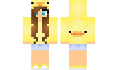 minecraft skin derpy-duck-girl Find it with our new Android Minecraft Skins App: https://play.google.com/store/apps/details?id=studio.kactus.girlskins