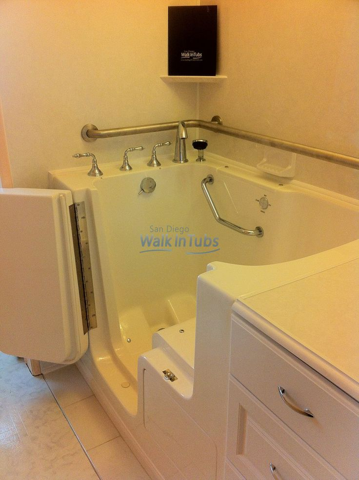 Left Hand Easy Access Walk In Tub