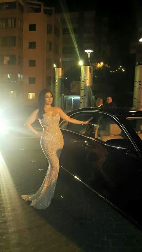 Wooow  This dress is fantastic   Haifa is so pretty