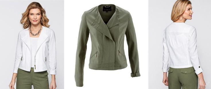 NOVÉ ,,KRÁSNÉ lehké sako či bunda vel.52 :: AVENTE ...móda s nápadem