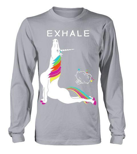 Funny Exhale Yoga Unicorn T shirt yoga T-shirt, #YogaTshirtsForWomen#YogaTshirts#YogaTshirtsForWomenFunny#YogaTshirtMen#YogaShirt#YogaTshirtNamaste#YogaTshirtForWomen#YogaTshirtLong#YogaTshirtXl#YogaTshirtForMen#YogaTshirtFunny#YogaTshirtHotBikram#YogaTshirtWomen