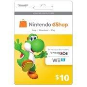 Interactive Commicat Nintendo Eshop Card Yoshi $10