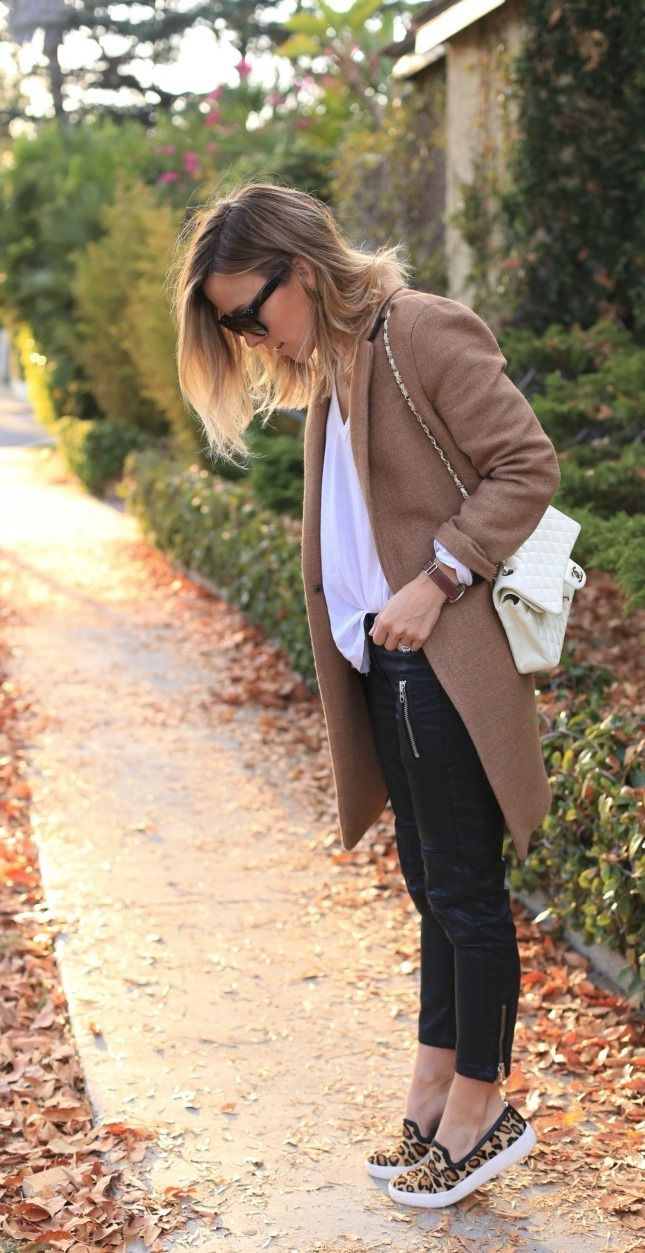 15 Ways to Rock Sneakers This Fall | Brit + Co