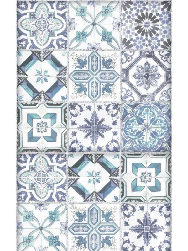 affordable l unique carreaux de ciment bleu bon apptit caselio with lino carreaux de ciment. Black Bedroom Furniture Sets. Home Design Ideas