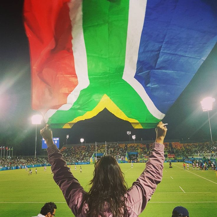 #bronze for #blitzbokke @olympics #rio2016 #southafrica #southafricanflag…