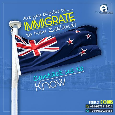 We will make the immigration process easier for you. Contact Mr. Pankaj Malhotra (Ex-Visa Officer) Ph : +91-9650033988. For any visa other than Student contact Ms. Rajni Garg (Licensed immigration advisor) at +91-9873113624. #ExodusOverseas #Licensed #Visa #Officer #Immigration #Advisor #Consultation #NewZealand