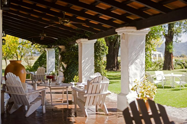 Argentina Terrace - La Estancia - House of Jasmines