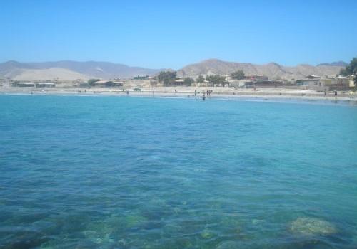 Playa Punta Flamenco, región de Atacama. Chile