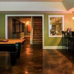 Concrete Floors Basements And Floors On Pinterest