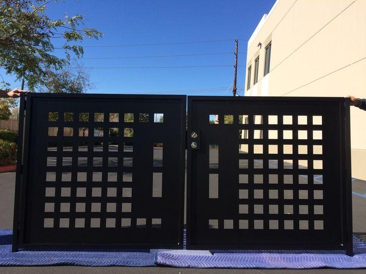 Davinci Contemporary Dual Entry Gate Dmg 1020 Gates