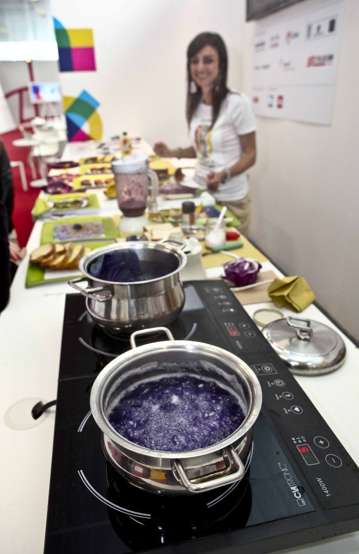 #Expo2015 space at #TuttoFood 2013 with #Coloribo #colors to eat, multisensory #food #ExpoMilano2015.  Are you a South African company that wants to exhibit your food and beverage products at the next Tutto Food? Contact Export Pavilion Promotions! +27 12 771 8510 or admin@expavpro.co.za #tuttofood #exportpavilionpromotions #internationalmarkets #italianmarkets #foodandbeverage #foodproducts #beverageproducts #southafricanproducts