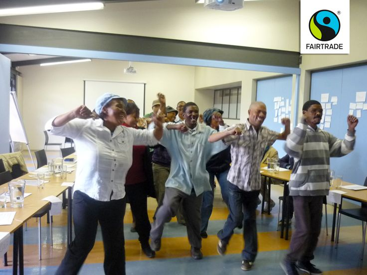 Workers at a Fairtrade certified winery in South Africa took some time out of their training to learn the infectious Fairtrade Step. Great little story here!