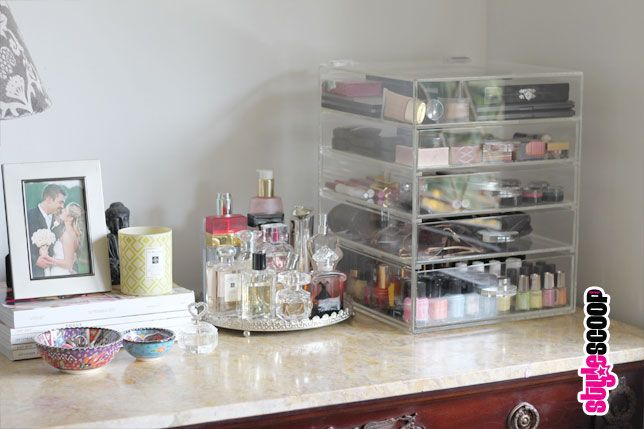Store Your Makeup! Acrylic Makeup Organizer - Style Scoop - Daily Fashion, Beauty and LifeStyle Blog