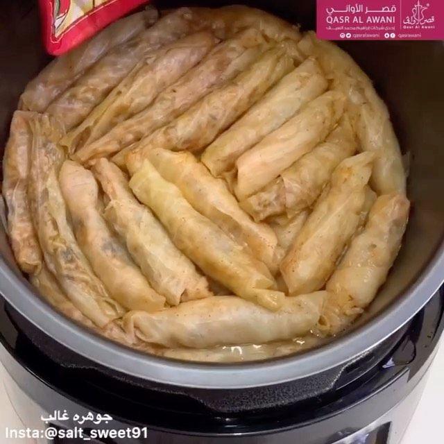 Hanaa Cook On Instagram من مطبخ المبدعه Salt Sweet91 Salt Sweet91 Salt Sweet91 Salt Sweet91 محشي الكرنب او الملفوف استخدمت Recipes Food Bacon