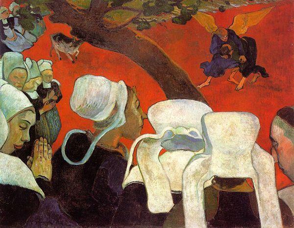 La vision après le sermon - Paul Gauguin