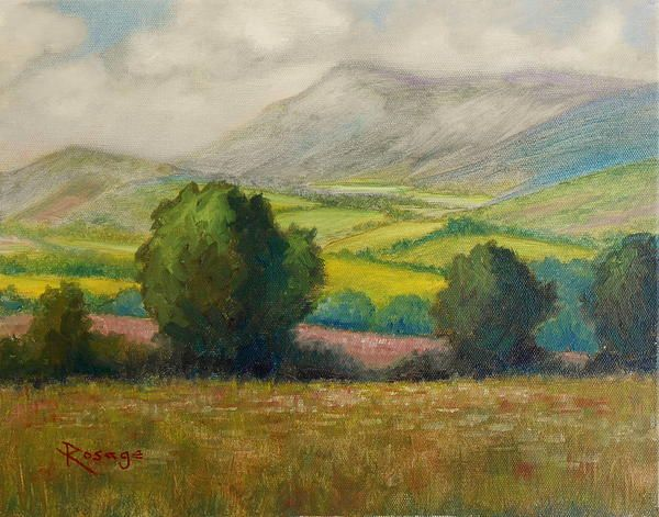 Prints and Cards available from this painting by Bernie Rosage Jr.