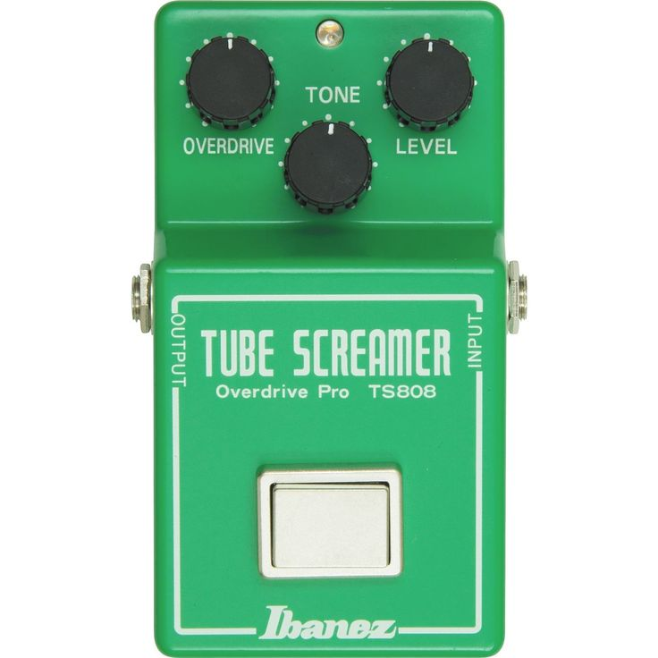 Ibanez TS808 Overdrive Pedal - MusicFutures