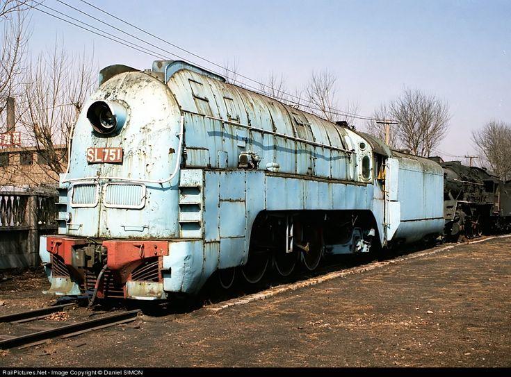 sl 751 chinese national railway 462 at sujiatun