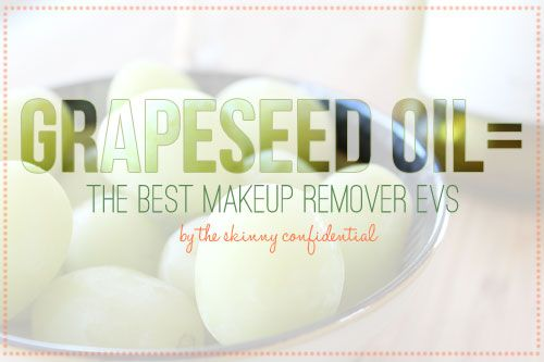 All Natural Makeup Remover--- Throw Away Your Store-Bought Shit |