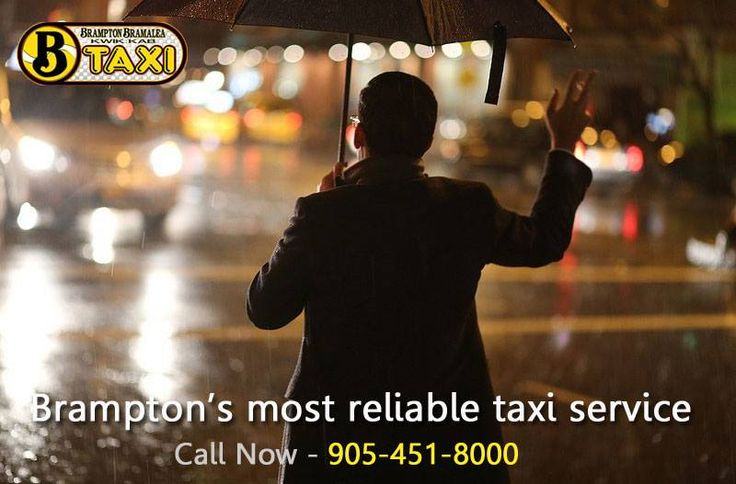 Brampton's most reliable taxi service!