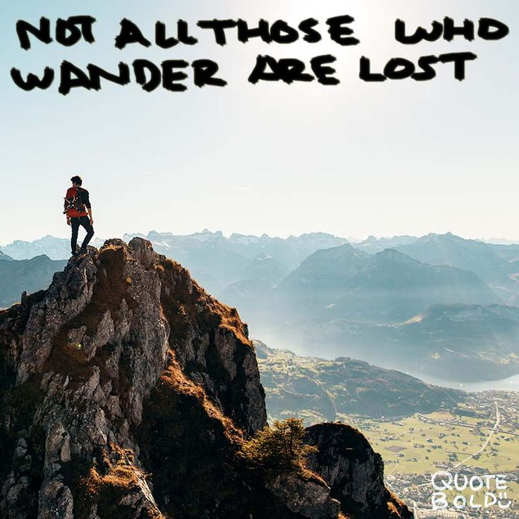 """""""Not all those who wander are lost."""" – J.R.R. #Tolkien  See more #happy #journey #quotes at http://quotebold.com/happy-journey-quotes/"""
