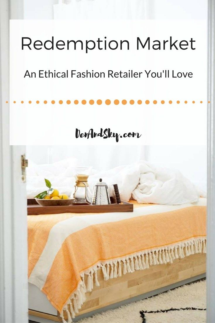 Redemption Market: An Ethical Fashion Retailer You