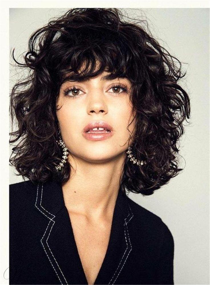shag haircut curly