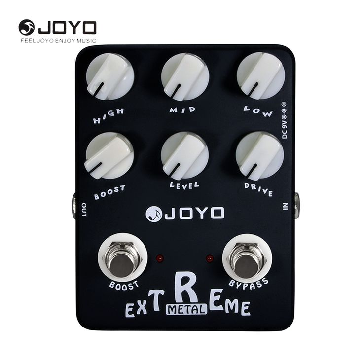 JOYO JF-17 Extreme Metal Electric Guitar Effect Pedal 3-Bands Powerful EQ 6 Knobs. Yesterday's price: US $78.41 (64.24 EUR). Today's price: US $39.99 (32.48 EUR). Discount: 49%.