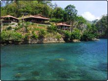 The Lembeh Resort. Rated very highly on Tripadvisor.