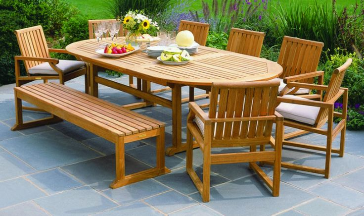 "Through the years we have perfected the task of restoring outdoor teak furniture. No furniture is ""too old"" or ""too weathered"". No job is too big or too small! OC Teak has performed jobs on commercial properties with hundreds of teak patio furniture pieces and we've restored countless teak benchesteak tables and teak chairs of all shapes and sizes. http://octeak.com/ #teakrestoration #teakfurniture #orangecounty #newportbeach #LagunaBeach"
