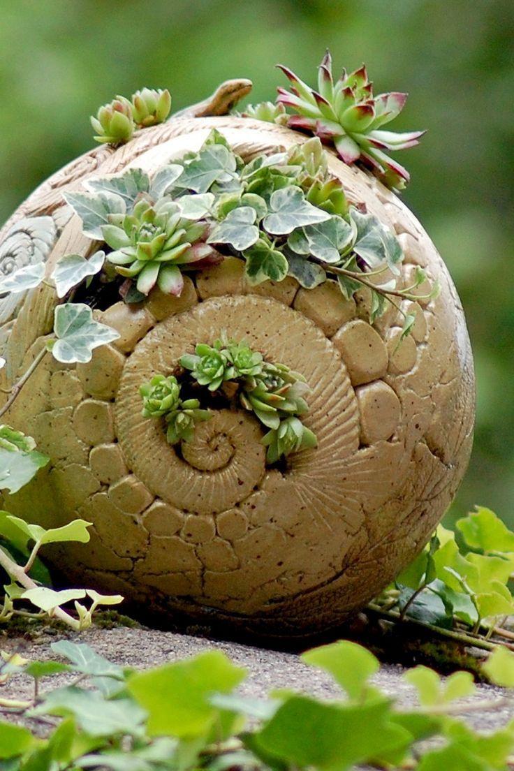 Pflanzkugel aus Keramik Flower pots, Plants, Garden balls