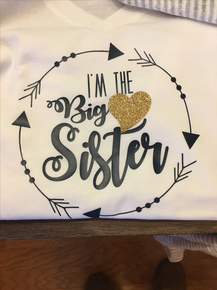 Custom Big Brother, Big Sister, and Big Deal shirts