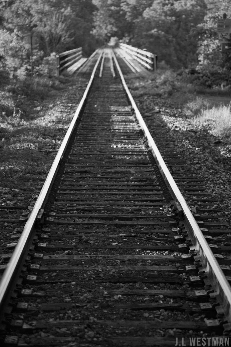 Train tracks in St. Mary's Ontario