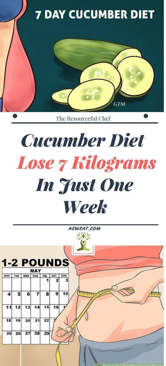 TRY THE CUCUMBER DIET AND LOSE 7KG IN 7 DAYS