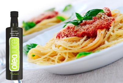 Spaghetti Bolognese simply delicious...made with Olea Juice olive oil #oliveoil #healthyrecipes #greekfood