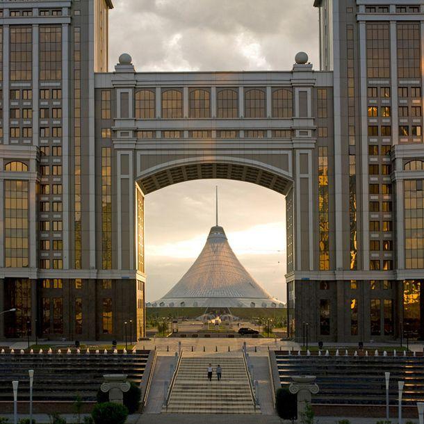 """""""Хан-Шатыр""""  Астана, Казахстан, 2006–2010, арх. Норман Фостер"""